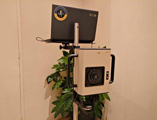 De infraroodbeelden van de Meditherm camera